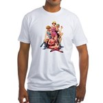California Peaches Fitted T-Shirt