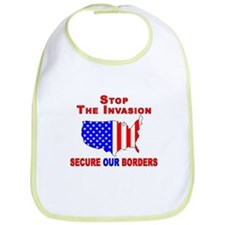 STOP The Invasion  Bib
