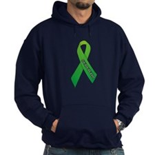 Green Ribbon 'Survivor' Hoodie
