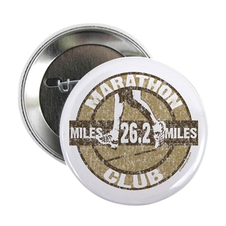 "Marathon Club 2.25"" Button"