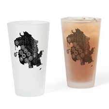 Dharma Station Identification Drinking Glass
