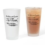 Valenzetti Equation Drinking Glass