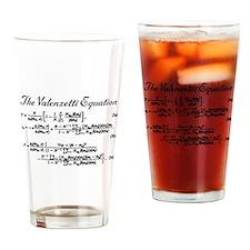 Valenzetti Equation Drinking Glass
