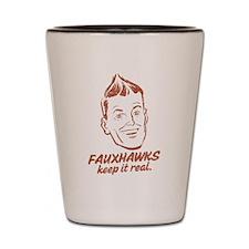 Fauxhawks Shot Glass