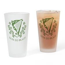 Erin Go Bragh Drinking Glass