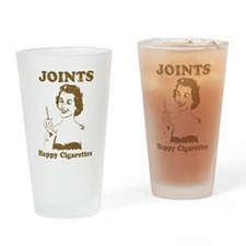 Joints: Happy Cigarettes Drinking Glass