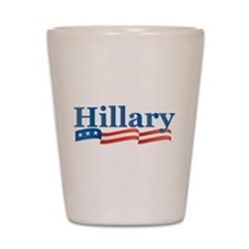Hillary Shot Glass