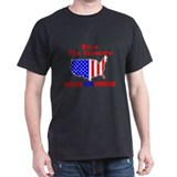 Mexican Stop The Invasion  Black T-Shirt