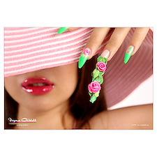 Nail Art - Acrylic 3D Roses