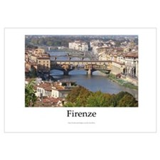 Bridges over the Arno River in Firenze (Italy)