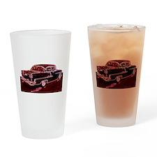Cute Classic car Drinking Glass