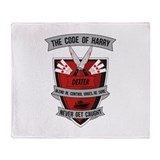 Dexter - The Code of Harry Throw Blanket
