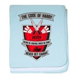 Dexter - The Code of Harry baby blanket