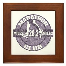 Marathon Club Framed Tile