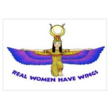 """Isis """"Real Women Have Wings"""""""