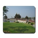 Chinese architecture Mousepad
