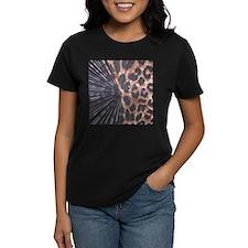 Leopard Print Mix Tee