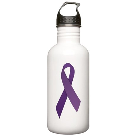 Purple Ribbons Stainless Water Bottle 1.0L