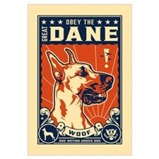 Obey the Great Dane!