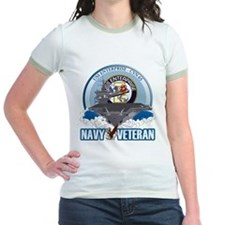 CVN-65 USS Enterprise Jr. Ringer T-Shirt