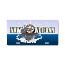 CVN-65 USS Enterprise Aluminum License Plate