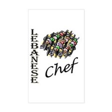 LB Chef Rectangle Decal