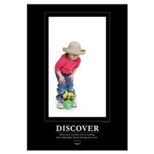 : DISCOVER - 9x12 Print