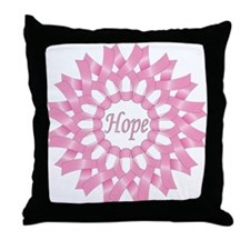 Circle of Hope Throw Pillow