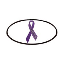 Purple Ribbon 'Survivor' Patches