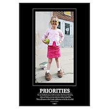 : PRIORITIES- 16x20