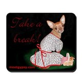 New! Mousepad with Red Chihuahua!