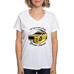 Mitsubishi Eclipse Women's V-Neck T-Shirt
