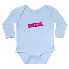 Kaydence Punchtape Long Sleeve Infant Bodysuit