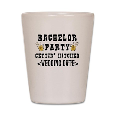 Bachelor Party 2012 (Your Wedding Date) Shot Glass