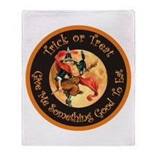 Trick or Treat Throw Blanket