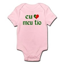 I love my Uncle (Portuguese) Infant Bodysuit