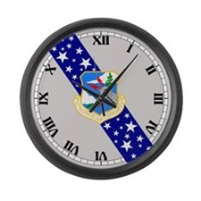 Funny Air Large Wall Clock