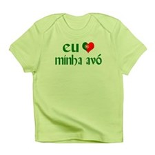 I love my Grandma (Portuguese) Infant T-Shirt