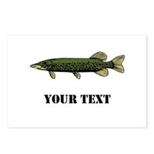 CUSTOMIZABLE MUSKIE Postcards (Package of 8)