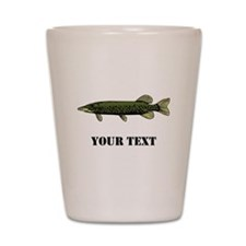 CUSTOMIZABLE MUSKIE Shot Glass