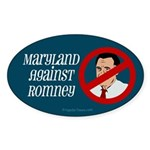 Maryland Against Romney bumper sticker