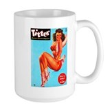Titter Hot Cowgirl Pin Up Beauty Mug