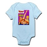 Titter Leggy Blonde Beauty Pin Up Infant Bodysuit