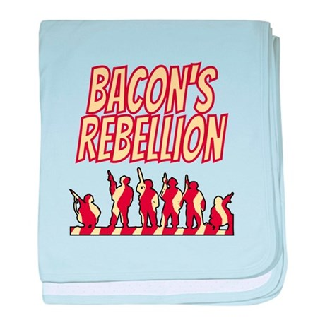 Bacon's Rebellion baby blanket