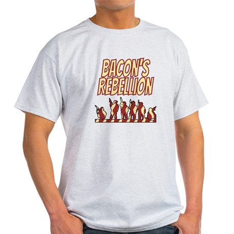 Bacon's Rebellion Light T-Shirt