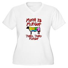 Meat is Murder. Tasty, Tasty Murder. T-Shirt