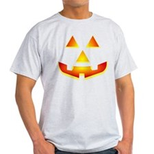 Jack 'O Lantern Pumpkin Glowing Face T-Shirt