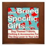 Breed Specific Gifts T-Shirt Framed Tile