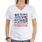 Breed Specific Gifts T-Shirt Women's V-Neck T-Shir