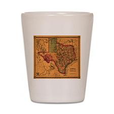 Texas 1866 Shot Glass